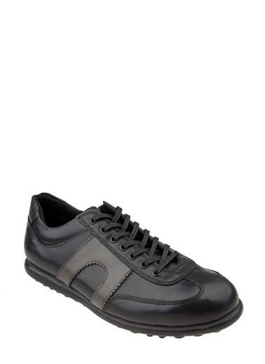 Wolfland Hakiki Deri Ayakkabı Siyah